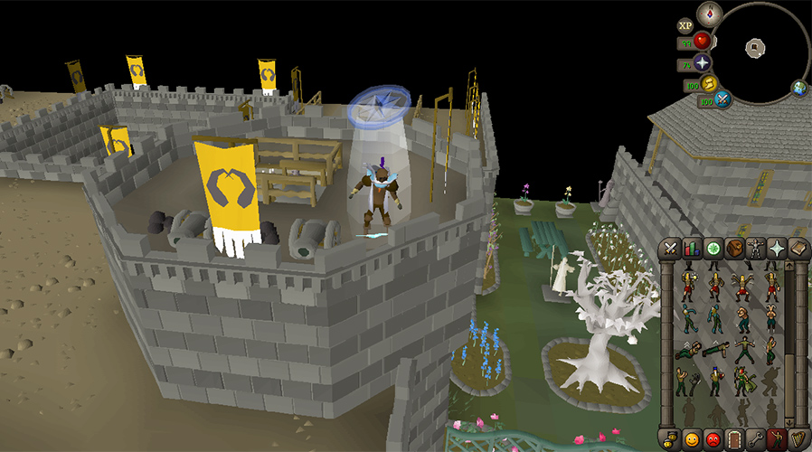 Questing in Old School RuneScape