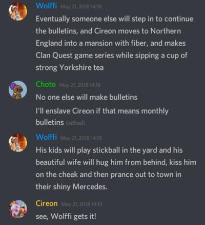 Clan Quest - Questaholic - February 2019